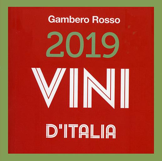 Riconoscimento Gambero Rosso Vini D'Italia 2019 all'azienda Vì bù
