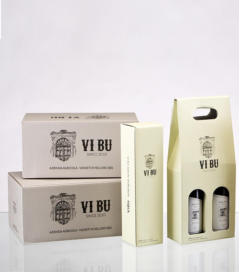 packaging della vibù